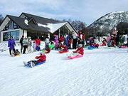 湯の丸スキー場 子供ソリ大会